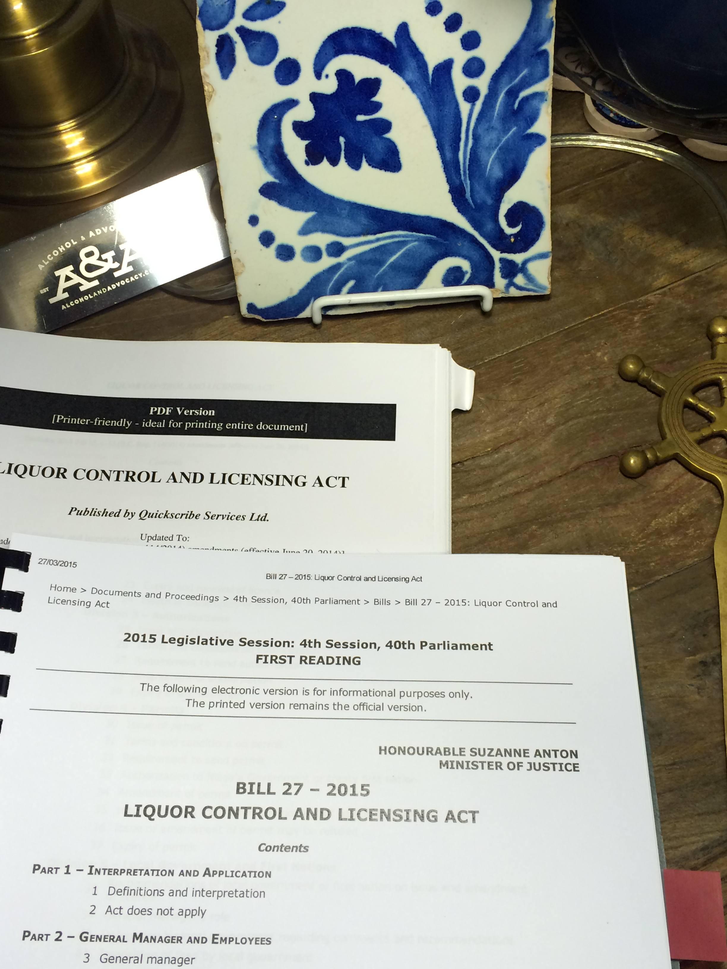 BC Liquor Law