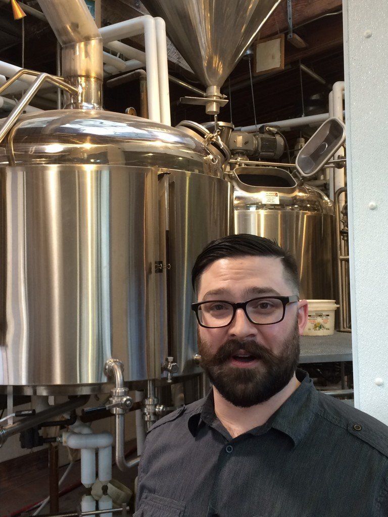 "Mike Sharpham, Granville Island Brewert ""Beer Merchant"""