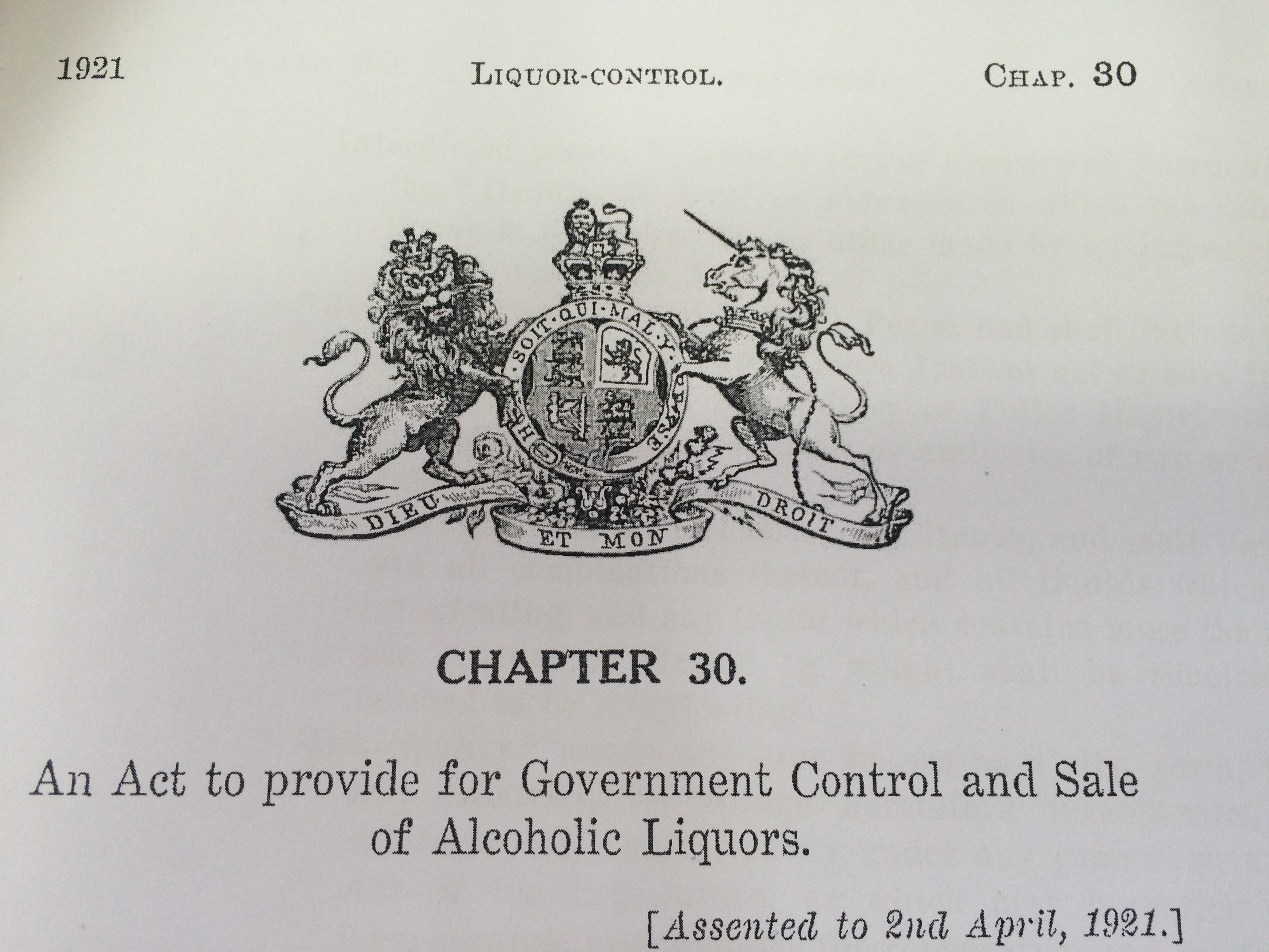 Alcohol & Advocacy Liquor Laws